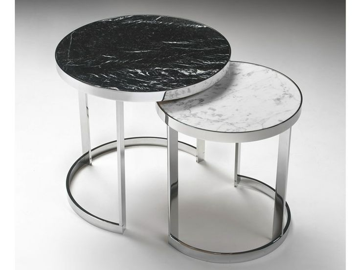 Low round coffee table MOON by KLAB DESIGN | design SPKD