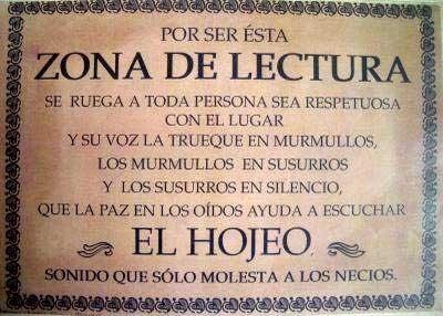 Frases sobre la lectura, elaborado por Librería Padilla