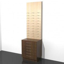 Πλάτη Τοίχου Με Συρτάρια Οπτικών - http://goo.gl/dMm9nu