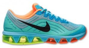 Korting Hardloopschoenen Nike Air Max Tailwind 6 Gamma Blue Heren Totale Oranje Zwart Fluorescerend Groen Winkel