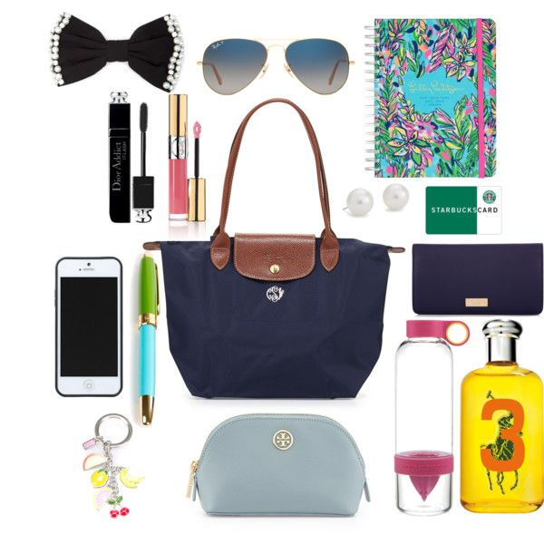 What\u0026#39;s in my Longchamp? Ft. Henri Bendel, Lilly Pulitzer, Kate Spade,
