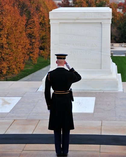 """Here rests an American soldier, known but to God"""