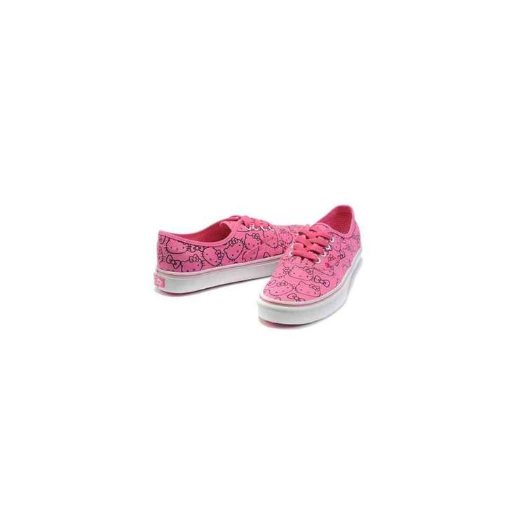 Hello Kitty Shoes | Vans Hello Kitty Shoes Pink Black