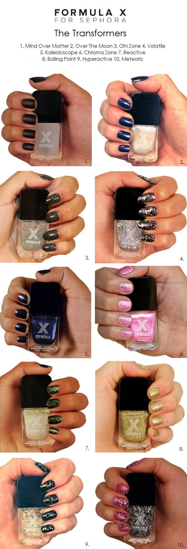 23 best Stash - Formula X for Sephora images on Pinterest | Nail ...