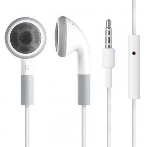 HEADPHONES EARPHONES HEADSET WITH MIC FOR IPHONE IPOD 3G 3GS 4 4S IPAD NANO MINI