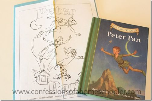 Peter Pan Literature Unit Study and Lapbook - Confessions of a Homeschooler