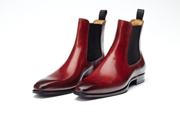 Chelsea Boot in Oxblood by Paul Evans