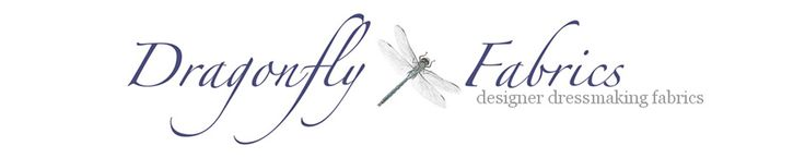 Dragonfly Fabrics - Designer Dressmaking Fabrics