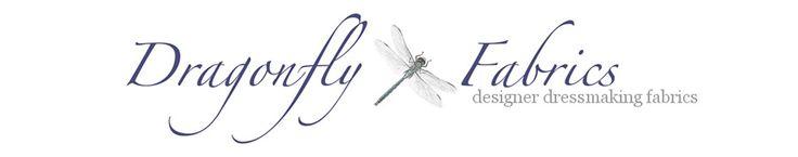 Dragonfly Fabrics - Designer Dressmaking Fabrics http://www.dragonflyfabrics.co.uk/