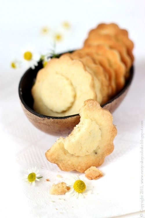 Chamomile cookies, perfect for Tea time