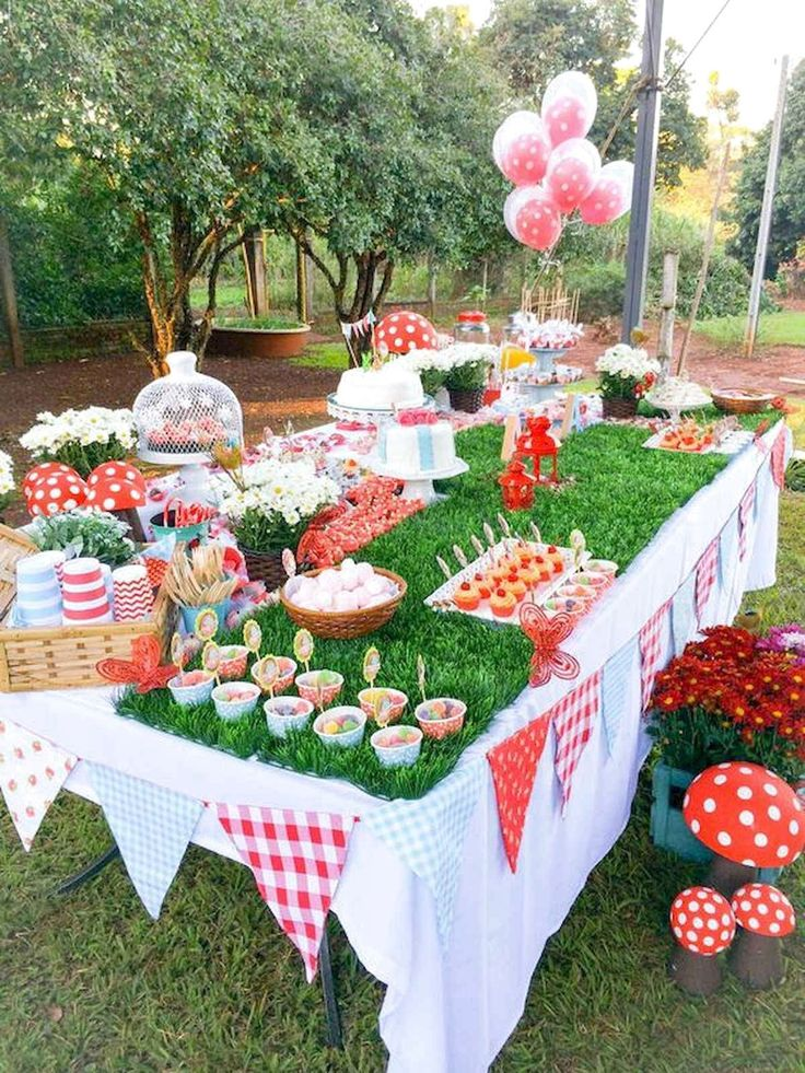 65 Best Outdoor Summer Party Decorations Ideas | Picnic ...