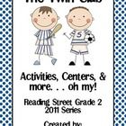 """""""The Twin Club"""" Activities, Centers, and more...oh, my! is designed as a supplemental resource for the 2011 edition of Reading Street, Grade 2.   I..."""