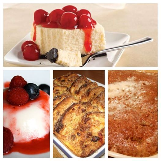 Just a tip from our Chef! Renown for excellence, our tantalizing desserts are the perfect way to round off a delicious meal!