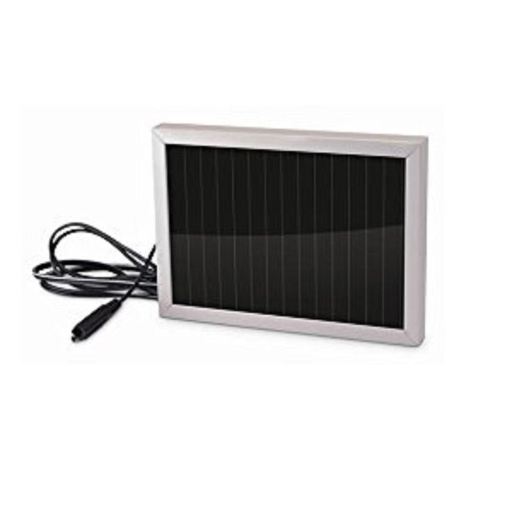 Stealth Camera 12V Solar Panel Camera Accessory w-6ft Cable