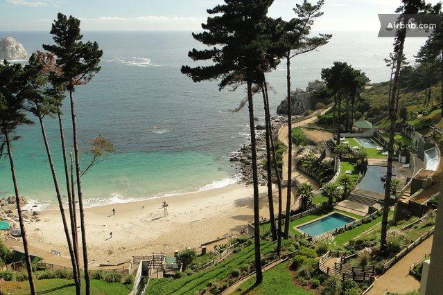 Algarrobo Chile direct Beach access in Algarrobo