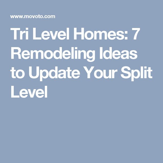 Tri Level Home Interior Design: Best 25+ Split Level Home Ideas On Pinterest