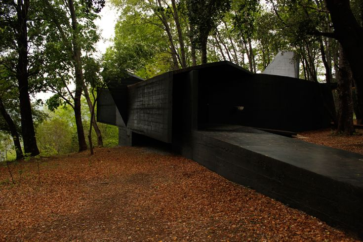 House of the Poem for the right angle | Vilches, Spain | Architect Smiljan Radic