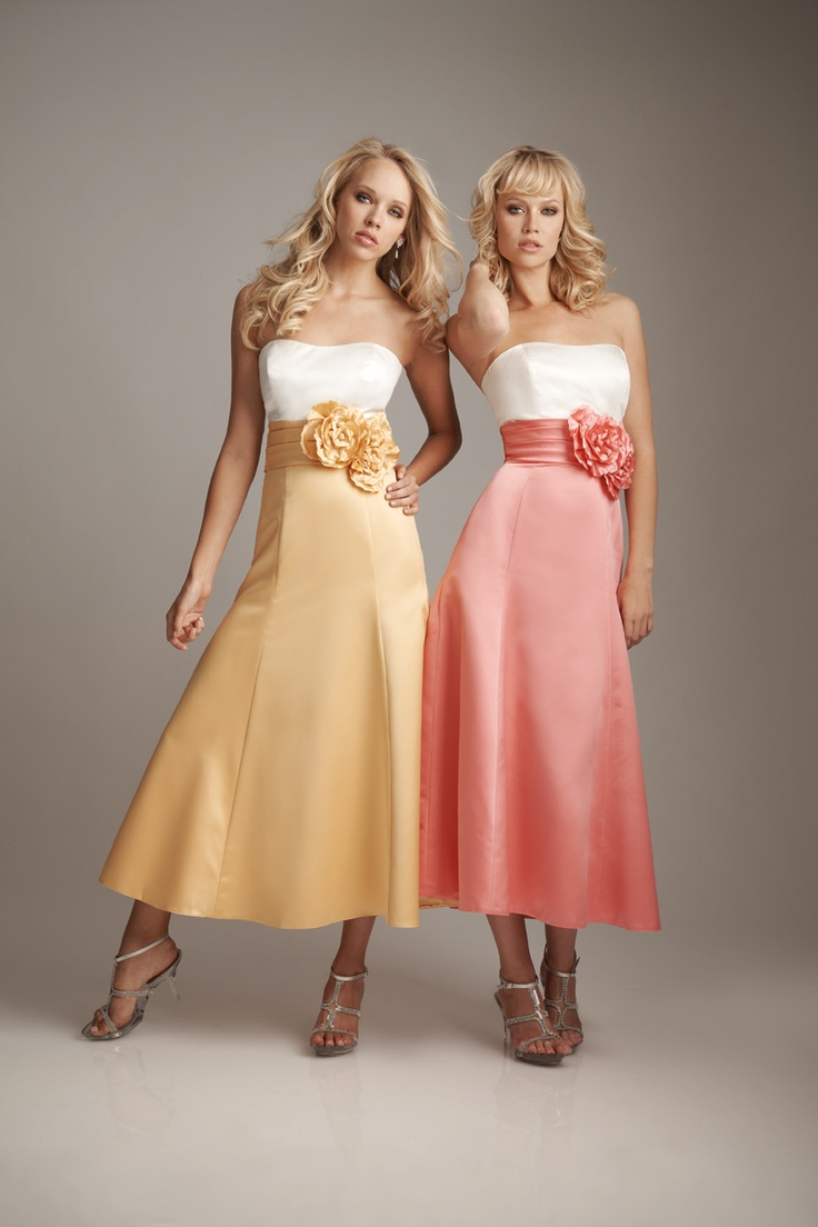 13 best my wedding bridesmaid dress ideas images on pinterest 2012 allure bridesmaid ivory coral satin empire waist rose bridesmaid dress 2 to 28 unique vintage cocktail pinup holiday prom dresses ombrellifo Gallery