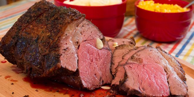 I love a good roast beef.  Top sirloin is one of the medium to higher priced roasts. There are def...