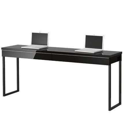 les 25 meilleures id es concernant bureau pour deux personnes sur pinterest bureau 2 personnes. Black Bedroom Furniture Sets. Home Design Ideas