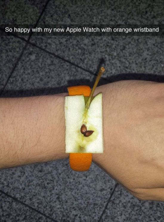 The new apple watch owners be like  http://funphotololz.com/funny/the-new-apple-watch-owners-be-like/