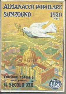 Almanacco Popolare Sozogno 1930. In vendita a 15 euro. Visita www.ilsolaiodiottone.blogspot.it