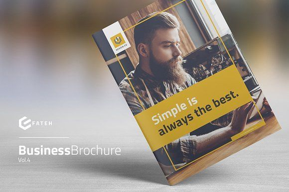 Business Brochure Vol.4 by FathurFateh on @creativemarket