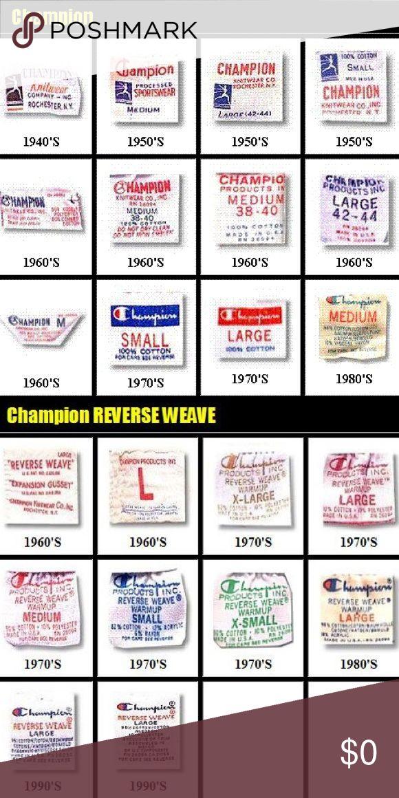 Vtg Champion Guide In 2021 Vintage Labels Vintage Tags Labels