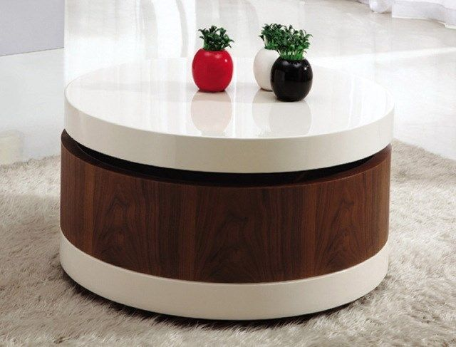 Small Coffee Table With Sliding Top
