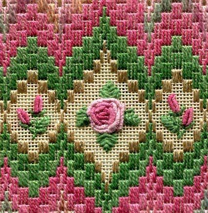 BARGELLO & ROSES