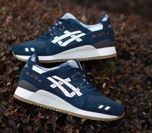 sale retailer 90c29 004a7 asics tiger mens gel lyte iii varsity pack trainers greyblue ...