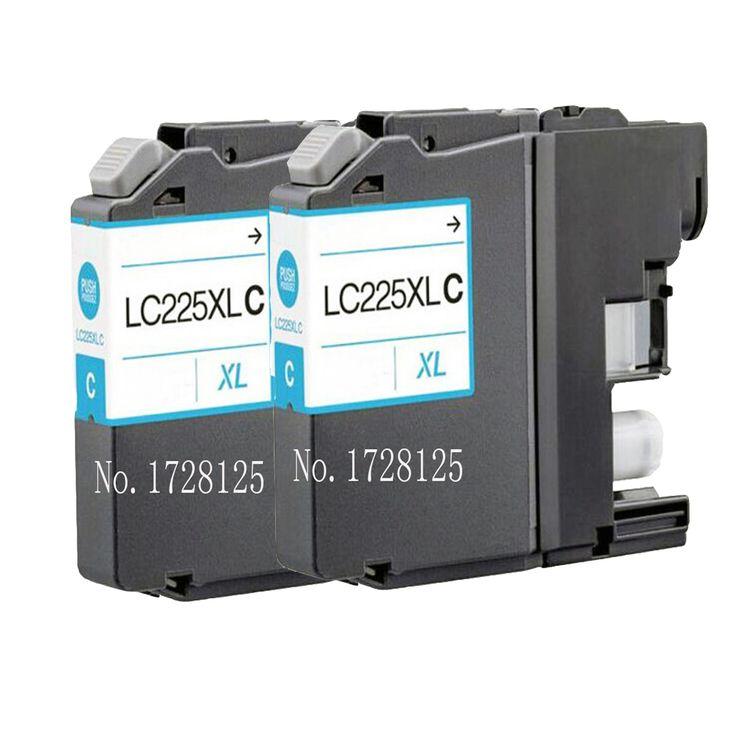 $11.40 (Buy here: https://alitems.com/g/1e8d114494ebda23ff8b16525dc3e8/?i=5&ulp=https%3A%2F%2Fwww.aliexpress.com%2Fitem%2F2x-COMPATIBLE-BROTHER-LC225-LC-225-LC-223XL-CYAN-INK-CARTRIDGE-FOR-DCP-J4120DW-MFC-J4420DW%2F32779922342.html ) 2x COMPATIBLE BROTHER LC225 LC-225 LC-223XL CYAN INK CARTRIDGE FOR DCP-J4120DW MFC-J4420DW MFC-J4620DW MFC-J4625DW for just $11.40