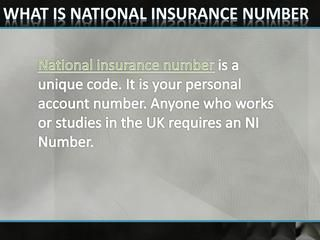 What If You Forgotten Your National Insurance Number? - DNS Accountants  DNS helps you to find your lost national insurance number get in touch with us. For more information you can explore our website DNS Accountants.