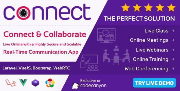 Connect Live Class Meeting Webinar Online Training Web Conference In 2020 Webinar Web Conferencing Online Training