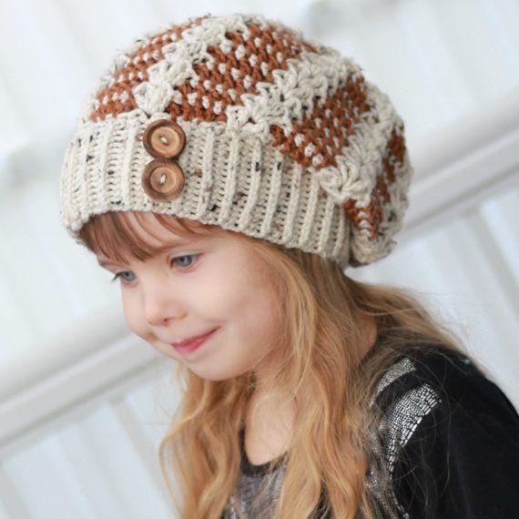 Crochet pattern Patron de crochet Alyssia Slouchy by TheEasyDesign