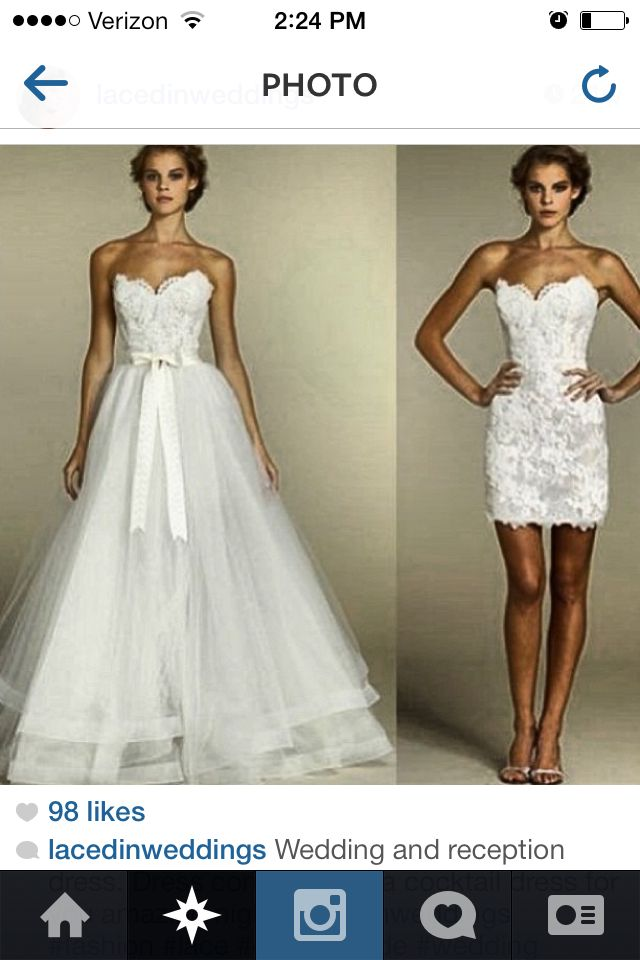 12 best bridalgowns images on pinterest wedding frocks convertible wedding dress junglespirit Images