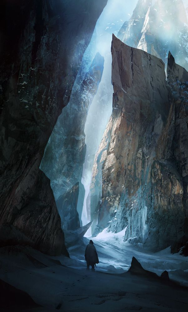 A Game Of Thrones The RPG, artworks by Seryl: Cyril Tahmassebi, 3D Character, Concept Art, White Mountain, Games Of Thrones, Illustration, Conceptart, Ice Age, Game Of Thrones