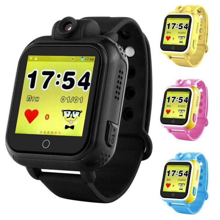 Vwar Q75 GW1000 3G WCDMA Remote Camera GPS LBS WIFI Location Kids GPS Smart Watch 720P 1.54 Touch Screen Smart SOS Tracker //Price: $54.81//     #Gadget