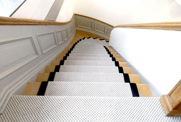 1000 id es sur le th me tapis d 39 escalier sur pinterest tapis d 39 escalier tapis d 39 escalier et tapis - Tapis d escalier contemporain ...
