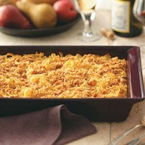Makeover Noodle Kugel from Taste of Home (healthier version)- make with miracle noodles, nooodle, or shirataki noodles????