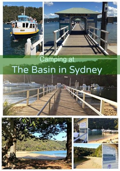 Camping at The Basin on Pittwater in the north of Sydney is a family delight. All the info you need can be found here.
