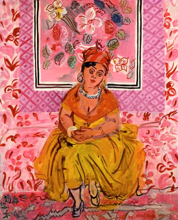 The Woman from Martinique, 1931, Dufy, Raoul (1877-1953)