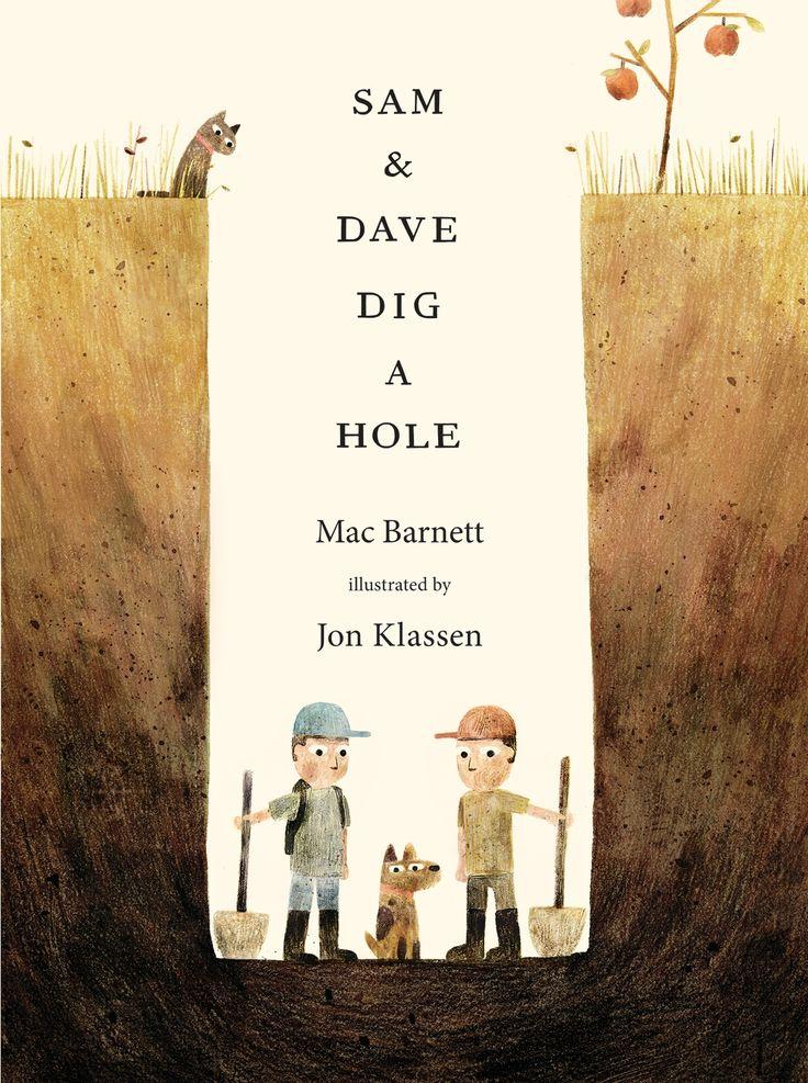 Barnett & Klassen // Caldecott Honor 2015 // Dig + inferencing + gem + dog + bone + irony + postmodern ending (or lack thereof)
