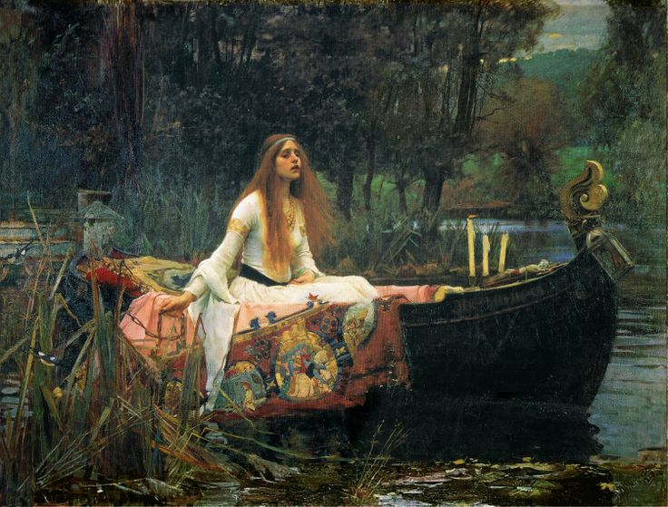 John William Waterhouse   Madeleine Lilu Emelin