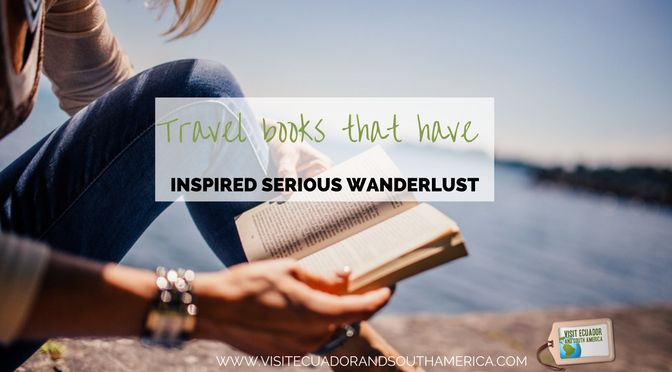 If you are looking for some inspiring #travel #books to bring with you during your next adventure will help enhance even more the experience.
