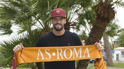 transfer live: Официјално:Alison Beker нов голман на Рома   Ромa...