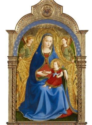 Virgen de la Granada, de Fra Angelico.