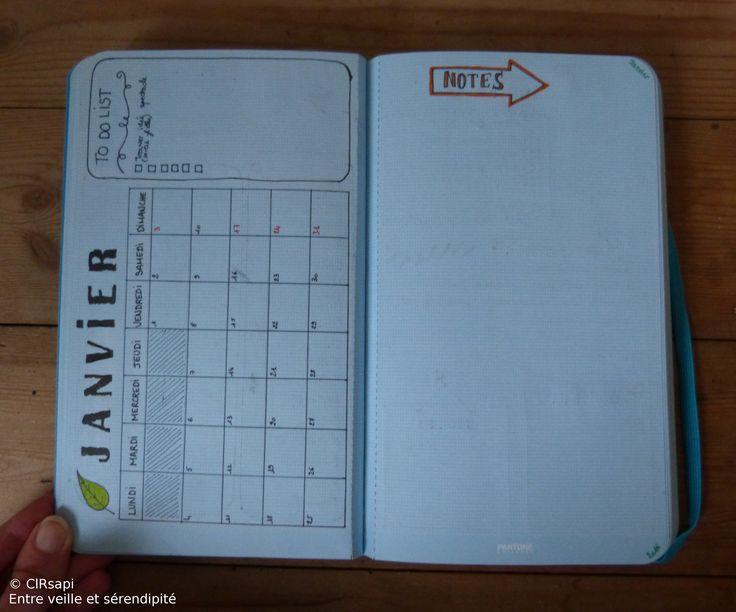 Qui dit nouvelle année, dit nouvel agenda ! (mais c'est pas obligatoire ;-) ) J'ai découvert le Bullet Journal de Magalie, du blog Accro à l'organisation. Et ça ma donné des idées…