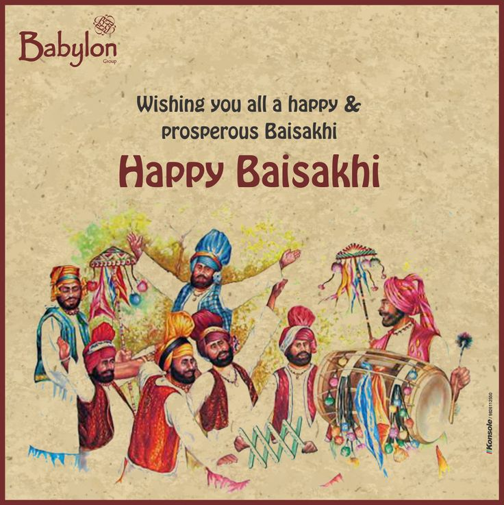 Wishing you all a happy & prosperous ‪#‎Baisakhi‬ ‪#‎HappyBaisakhi‬ ‪#‎Babylon‬