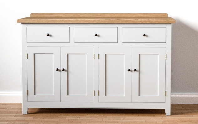 Free Standing Kitchen Cabinet | 146cm Sideboard Dresser Base Free Standing Kitchen Cabinet Unit